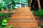 A flight of steps