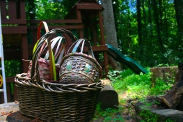 Old easter baskets